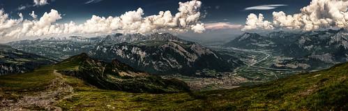 alps river schweiz switzerland view suisse ostschweiz berge svizzera rheintal mels moutains rhinevalley sargans pizol alpenrhein