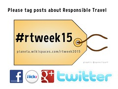 Please tag posts about 'Responsible Travel' #rtweek15 during the 2015 Responsible Travel Week