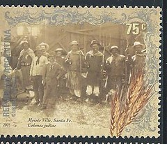 11692  Santa Fe Argentina Jewish Immigrants Stamp