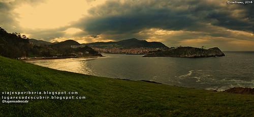 Lekeitio desde el prado (Bizkaia, Euskadi)