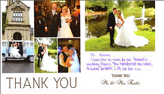 Letter of Thanks from Mr & Mrs Tindle