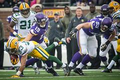 NFL Vikings v Packers 073