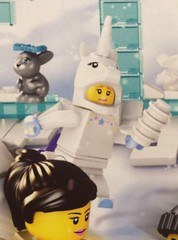 LEGO Unicorn Minifigure