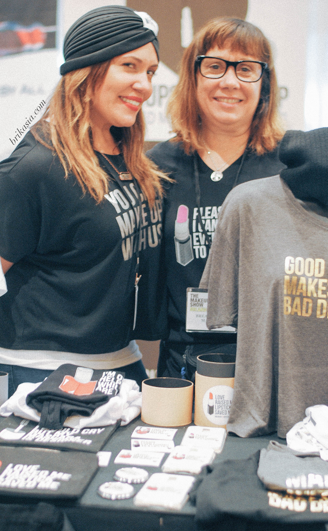 Breakups to Makeup Brand Spotlight, makeup bags and accessories, clever shirts, clothes and accessories for makeup lovers, The Makeup Show Orlando