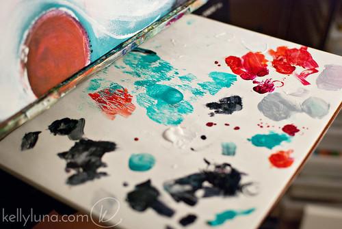 swan paint palette WM