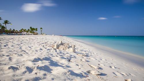 world cruise sea white castle beach sand christopher aruba caribbean oranjestad 2014 wölnerhanssen