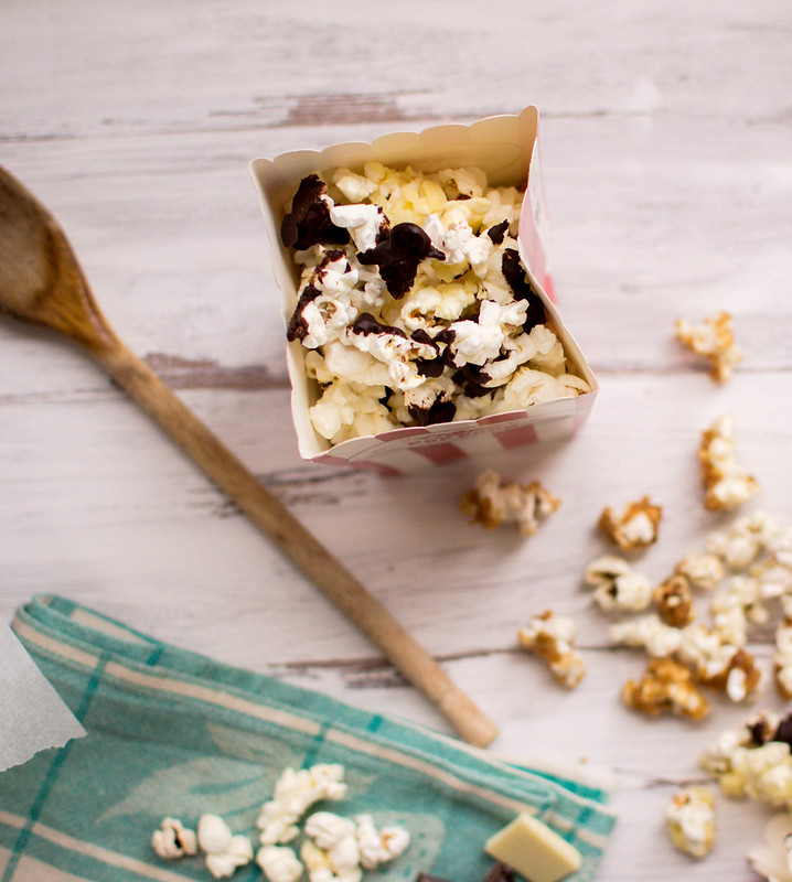 Salted Caramel & Chocolate Pop Corn