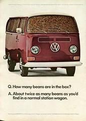 1968 Volkswagen Station Wagon Advertisement Newsweek June 3 1968