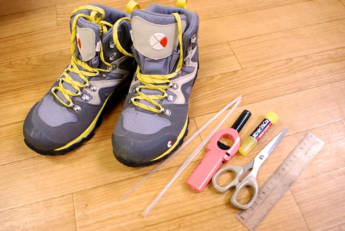 靴のメンテナンス