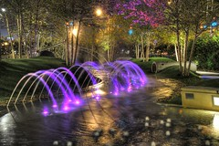 Water Fountains at Play