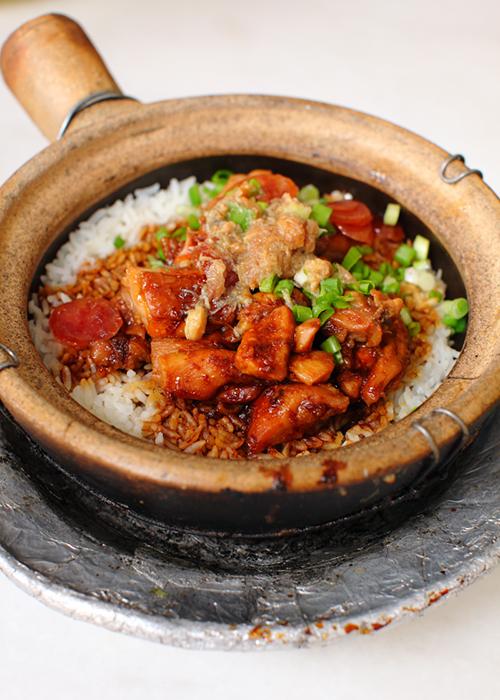 Choong kee claypot chicken rice damansara jaya for Chinese salted fish