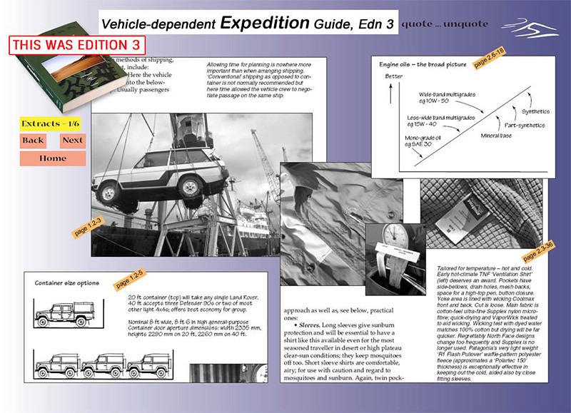 vehicle dependent expedition guide fourth edition exploring overland rh exploringoverland com 2014 Ford Expedition vehicle dependent expedition guide by tom sheppard