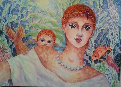 Merfolk Watercolor