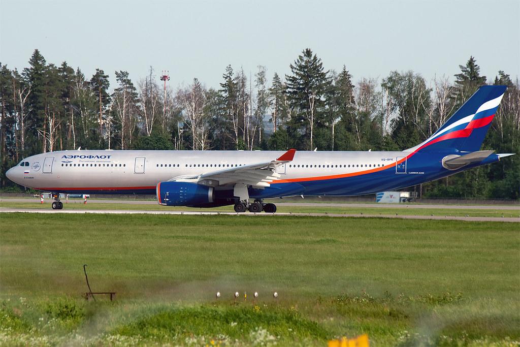 VQ-BPK - A333 - Aeroflot
