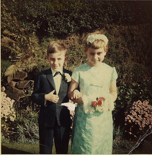 1966 With Cousin Gail