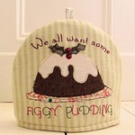 Figgy Pudding Tea Cosy