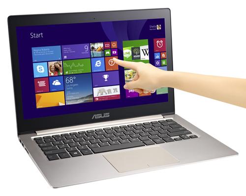 Asus giới thiệu ultrabook màn hình cảm ứng, nặng 1,4 kg - 57634