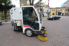 vehicle, transport, street sweeper, light commercial vehicle,