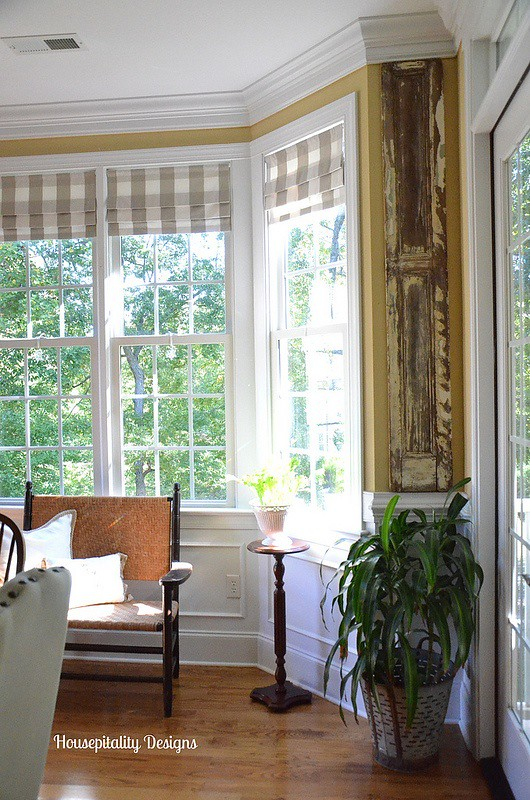 Dining Room Antique Shutters -Housepitality Designs