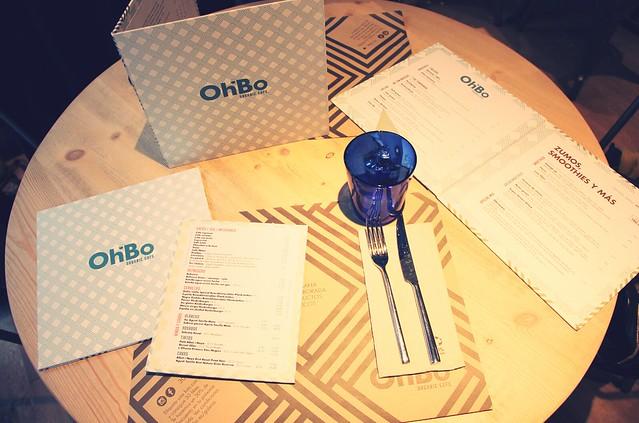 Restaurante OhBo Organic Café Barcelona