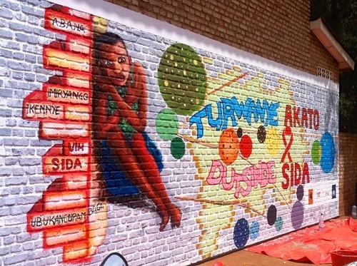 africa streetart aids rwanda artists stigma socialchange butare huye africancontemporaryart kuremakurebakwiga