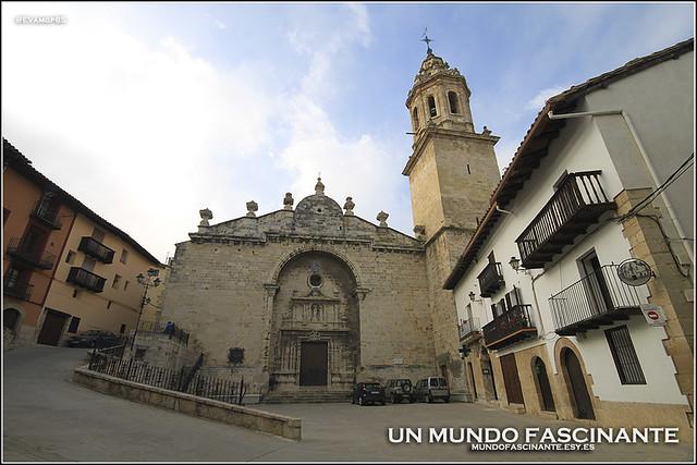 Iglesia Sta. María la Mayor, Peñarroya de Tastavíns