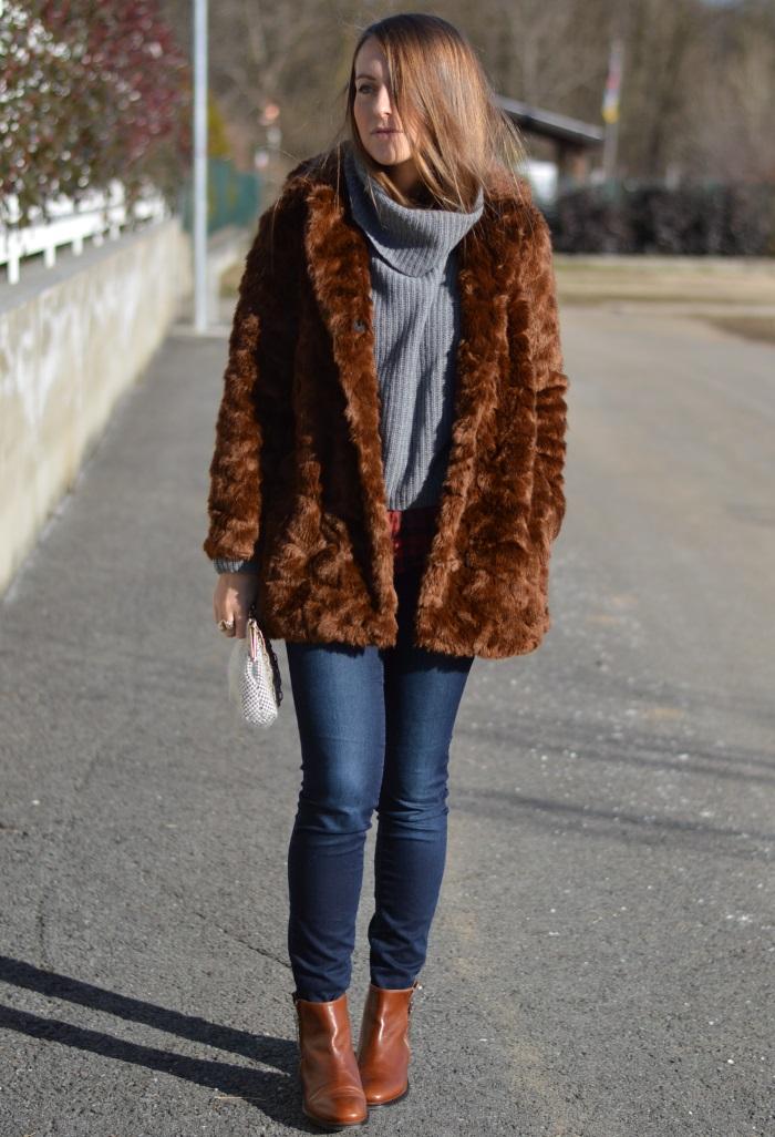 pellicciotto Zara, borsa handmade, saldi, benetton, fashion blog,  (2)