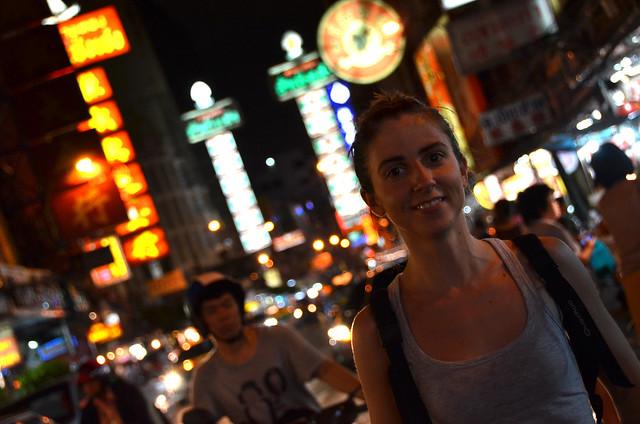 Diana en Chinatown