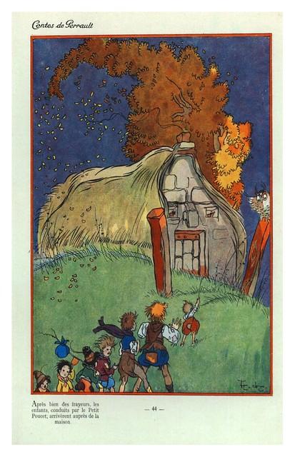 009-Contes de Perrault-1926. Ilt. Por Lorioux -© Universitätsbibliothek Braunschweig