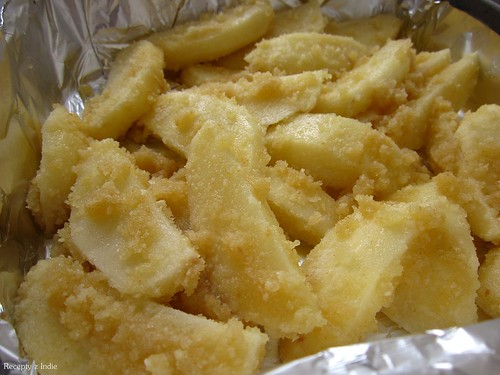 Pecene zemiaky so struhankou