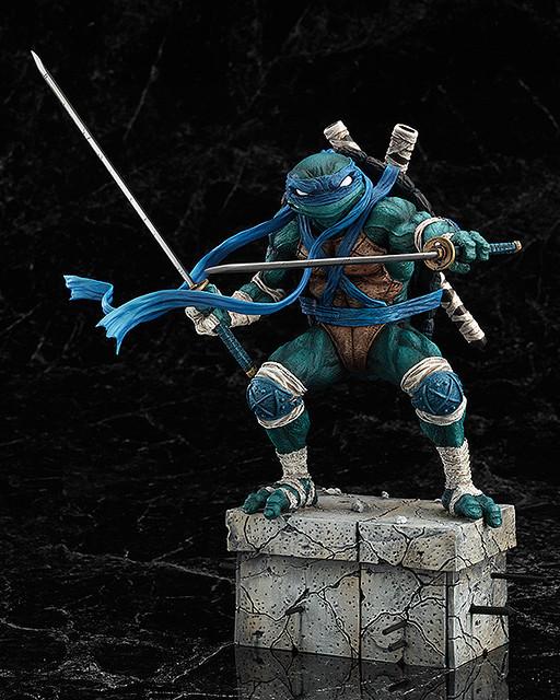 【官圖和販售資訊更新】GOODSMILE  忍者龜收藏雕像 李奧納多( Leonardo)