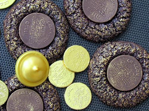 Golden Coins Cookies