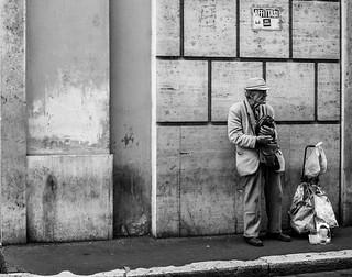 Man in Roma