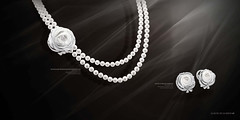 pearl, jewellery, monochrome photography, diamond, circle, black-and-white,