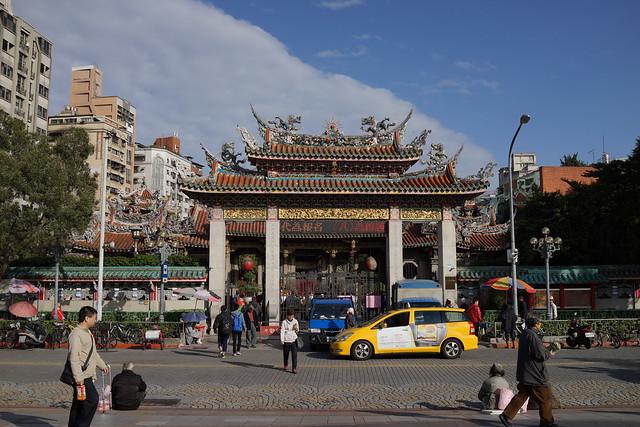 龍山寺(台湾旅行2014)
