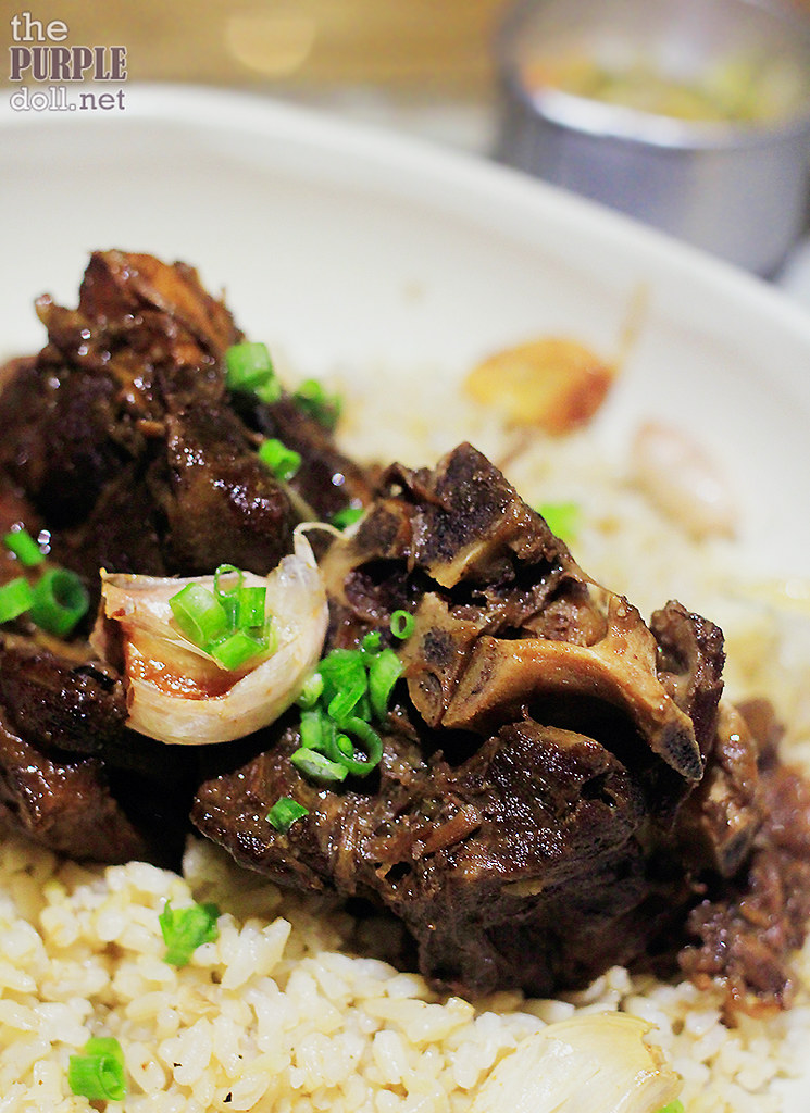 Lamb Adobo Rice (P620)