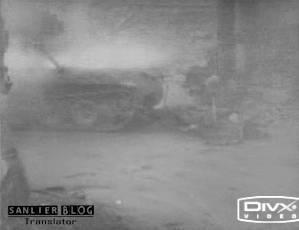 坦克战:活活烧死25