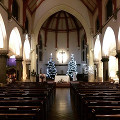 After a beautiful #Christmas eve children's mass #church #JesusBirthday #TheKingisBorn