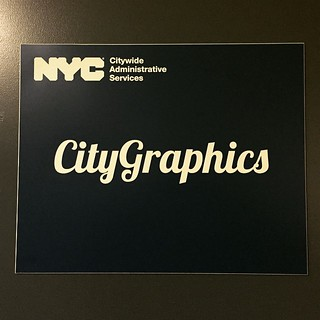 If they could only change the ugly, blocky NYC logo. #sigh #nycgov