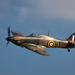 BBMF Hurricane Air Pagent 2014