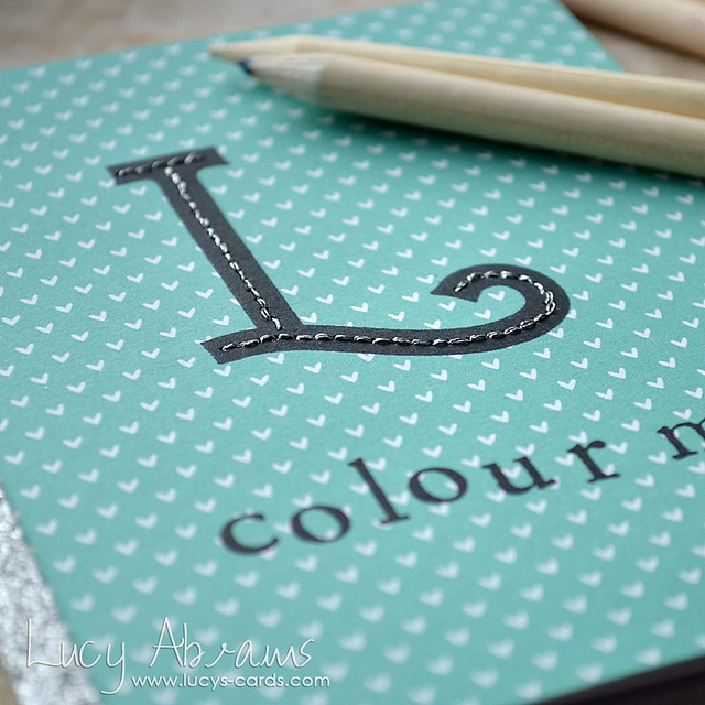 Monogram Colouring Book 1 by Lucy Abrams