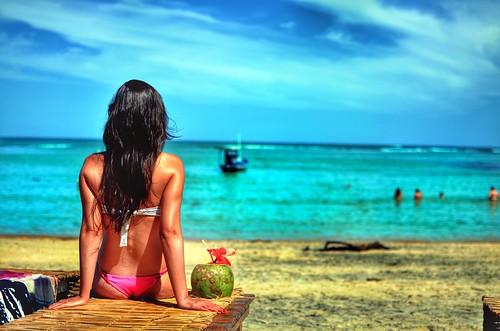 sea brazil praia beach beauty espelho 35mm nikon women colorful brazilian portoseguro