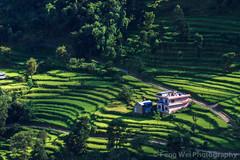 Rural Landscape, Besisahar, Annapurna Circuit Trek, Nepal