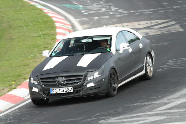Mercedes-Benz CLS test mule 4