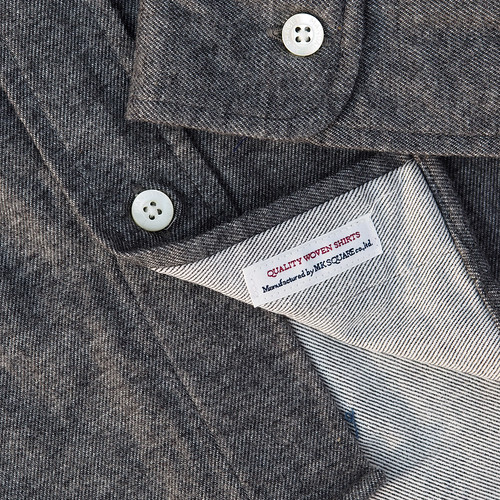 Manual Alphabet / Stretch Flannel B.D Shirt