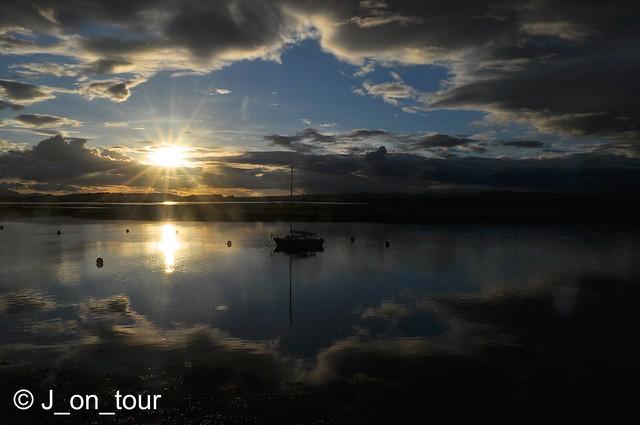 River Irvine sunset  GJC_016105