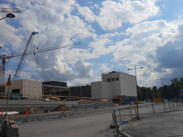 Hämeenlinnan moottoritiekate ja Goodman-kauppakeskus: Työmaatilanne 23.6.2013 - kuva 2