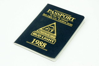 Sun, 01/18/2015 - 19:11 - The United States Triathlon Series developed many great ideas for improving the race experience. This 1988 'passport' included maps of the course, training tips, place to carbo load and many other tidbits of information.