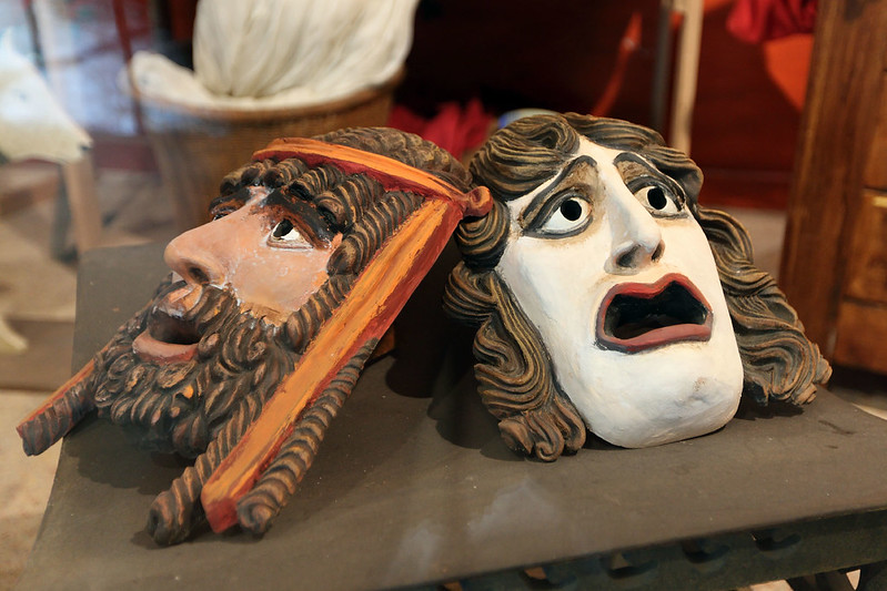 Roman theatre masks