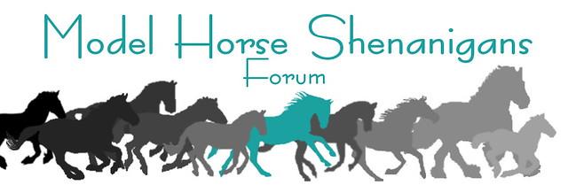 Model Horse Shenanigans